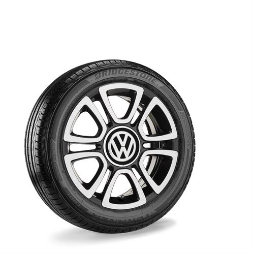 "VW up! 16"" Triangle Sommerkomplethjul"
