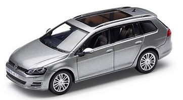 Golf Variant 1:43 Silver Metallic