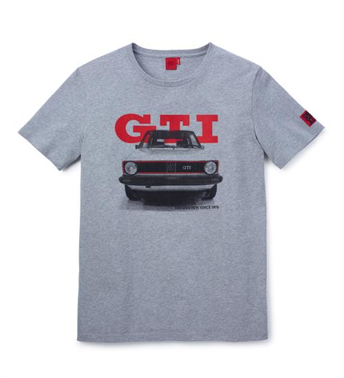 "Herre T-shirt i Large, ""GTI 1976"", fra GTI Collection"